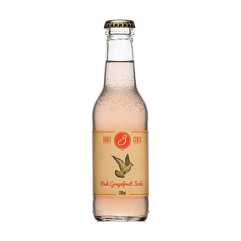 Three Cents Grapefruit Soda
