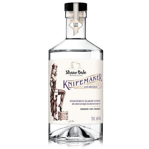 Knifemaker Strawbale Distillery