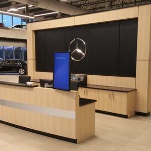 Auto Dealership Reception Area