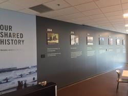 Cafe Shared History Wall