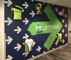 Pelotonia Wall