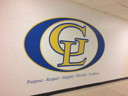 Gahanna Lincoln High School Wall M-1188.