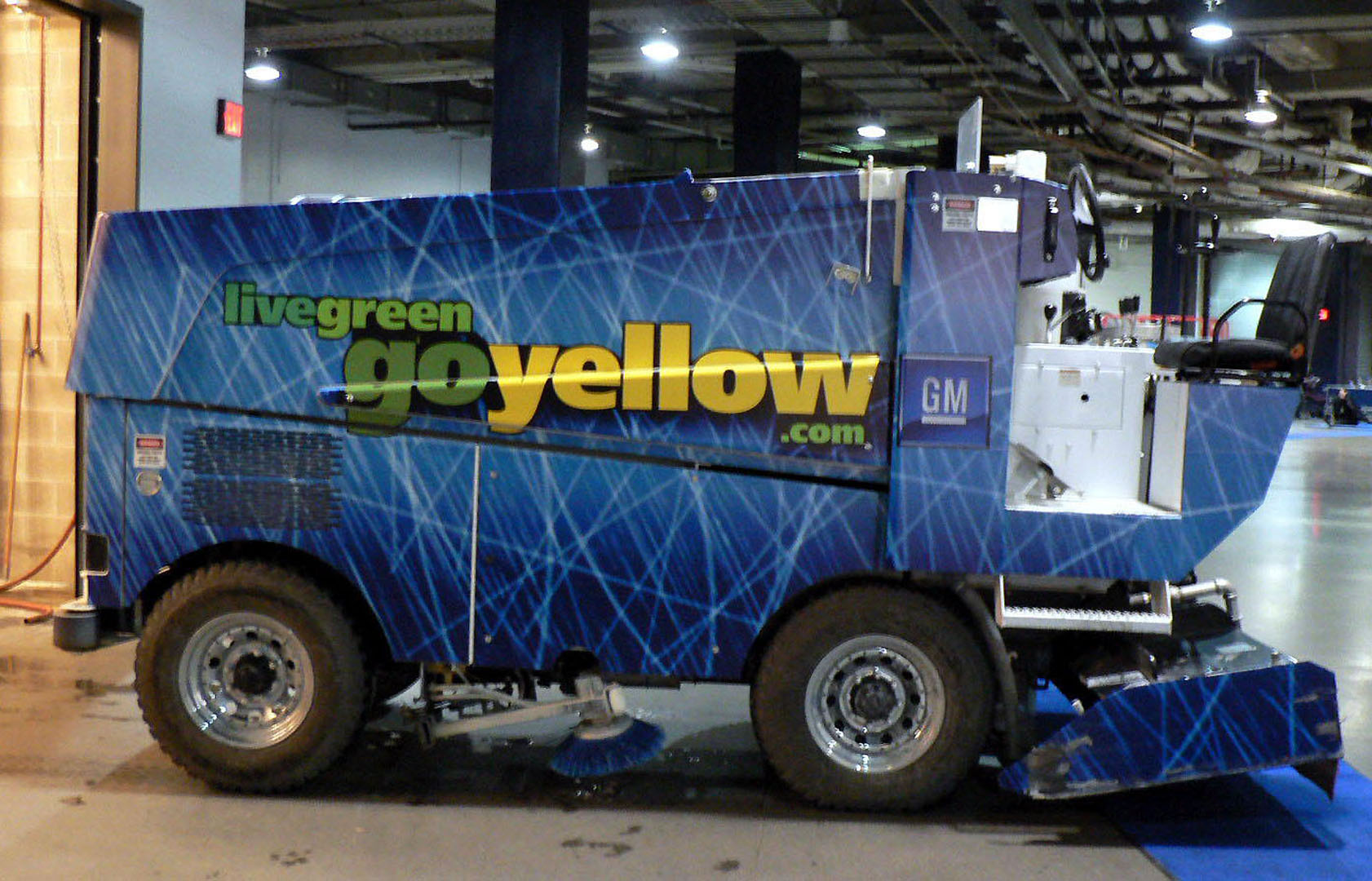 Go Yellow Zamboni
