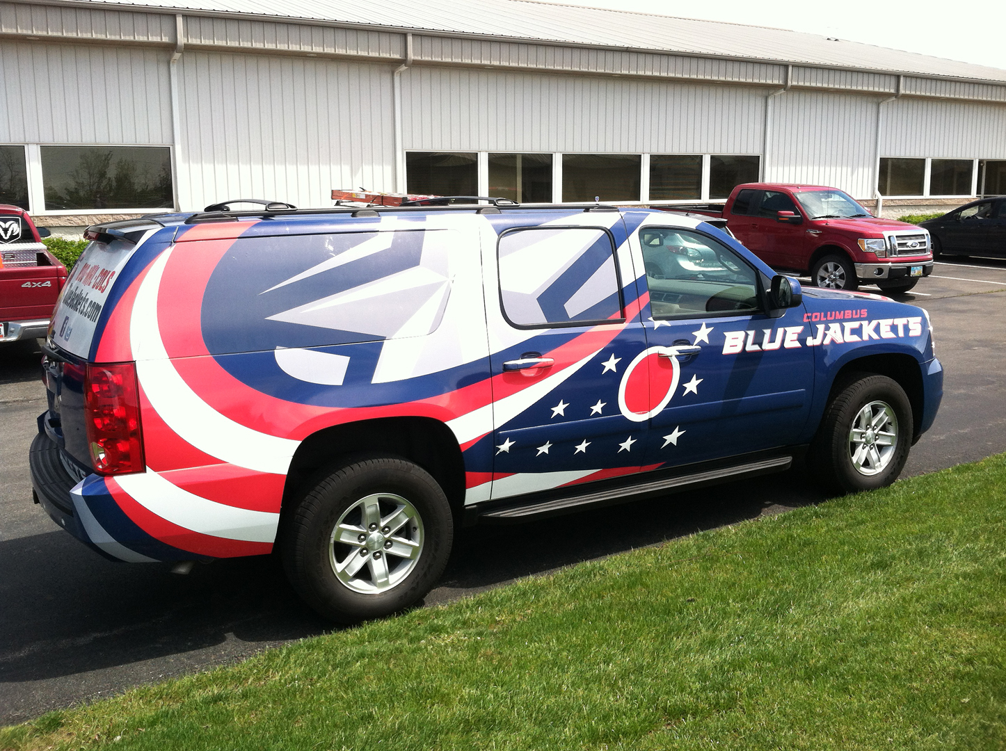 Blue Jackets tahoe