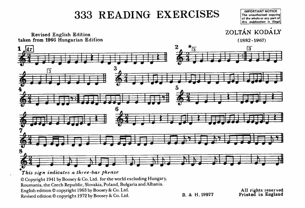 333 Reading Exercises - Zoltan Kodady