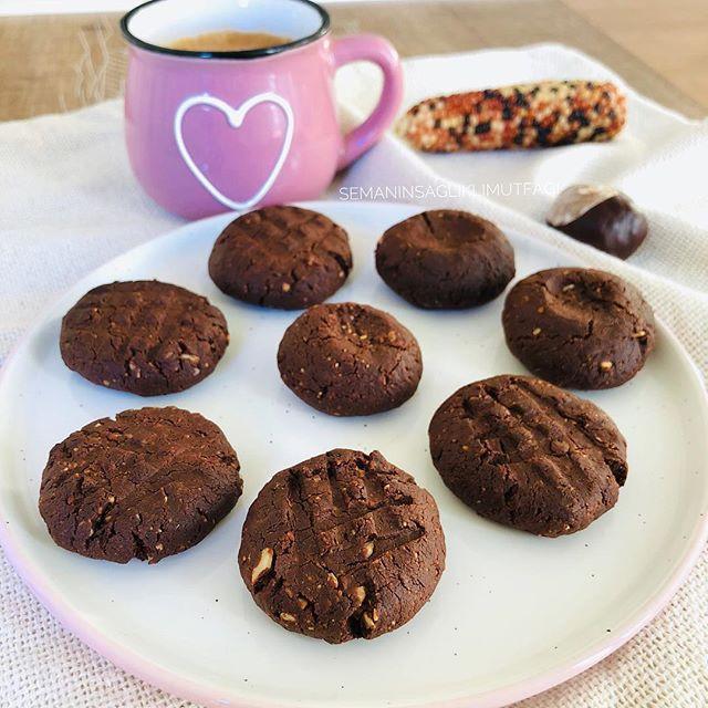 şekersiz kurabiye, bitter, sağlıklı kurabiye, kakaolu kurabiye, glutensiz
