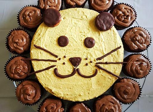 Çocuklar için sağlıklı doğumgünü pastası