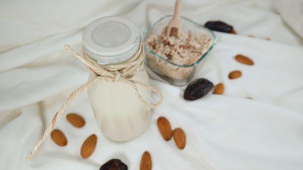 badem sütü, bitkisel süt