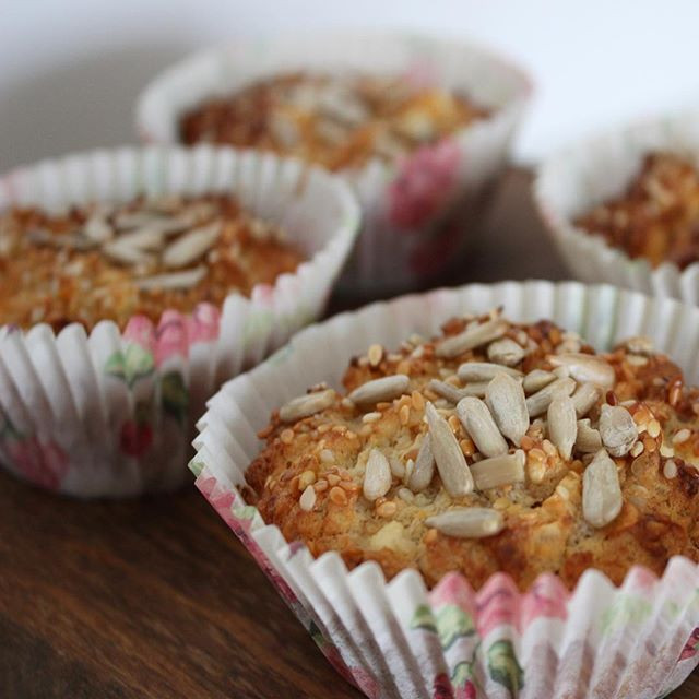 yulaflı tuzlu kek, yulaflı muffin