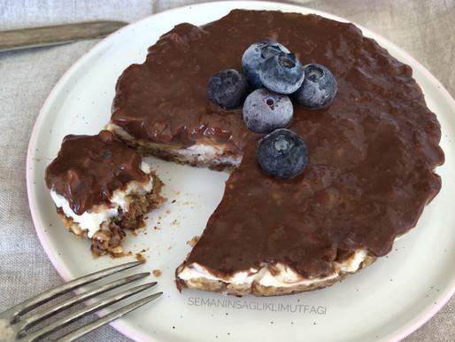 Şekersiz, glutensiz Cheesecake