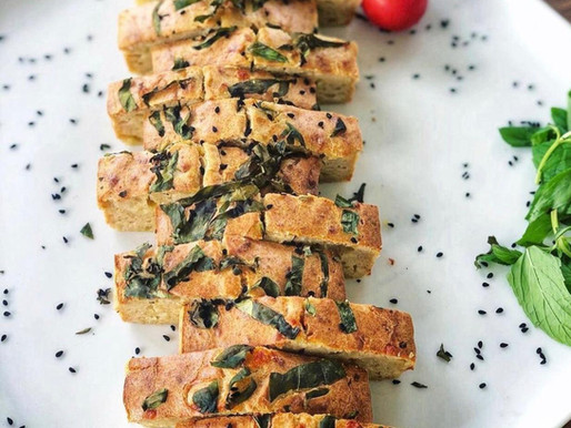 Glutensiz Sarımsaklı Ekmek