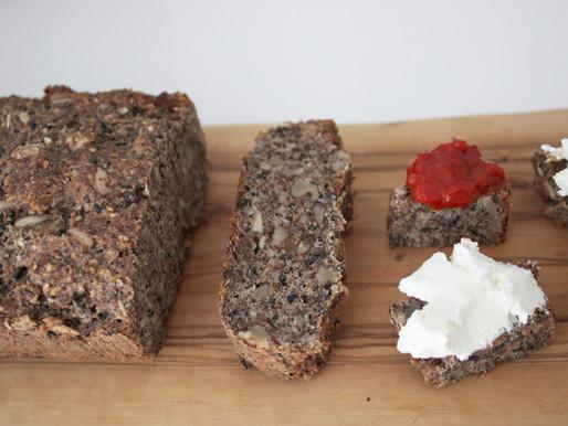 Glutensiz Tahılsız Tohum Ekmek