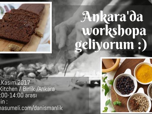 Ankara, sesinizi duydum ve geliyorum