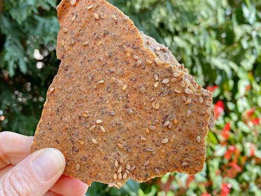 Gerçek Kuru Ekmek Tadında Kinoa Kraker