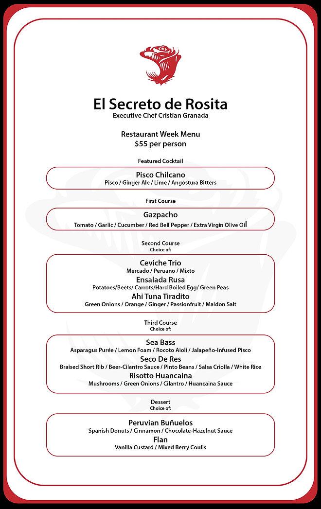 Secreto Restaurant Week AUG 2021 rusa co
