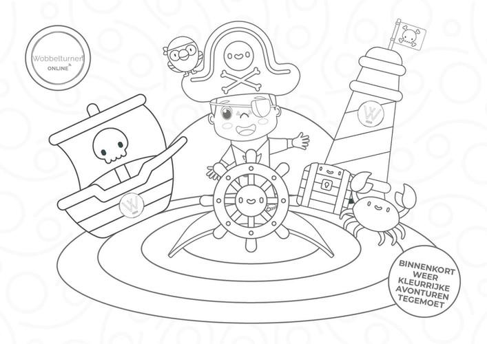 Piraten thema wobbelturnen kids513634794472262