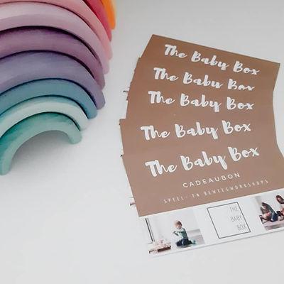 Cadeaubon The Baby Box