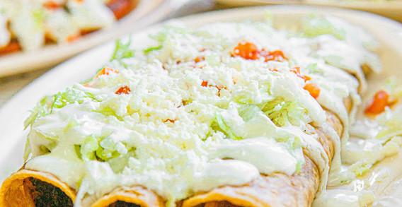 Henry's Tacos Flautas Dish