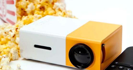 E-commerce: FlixTek Mini Projector