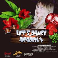 Sabato 16 Marzo 2019 Lets dance Academy.