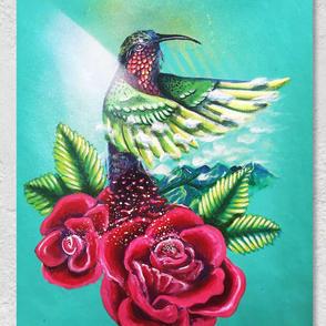 Hummingflower (SOLD)