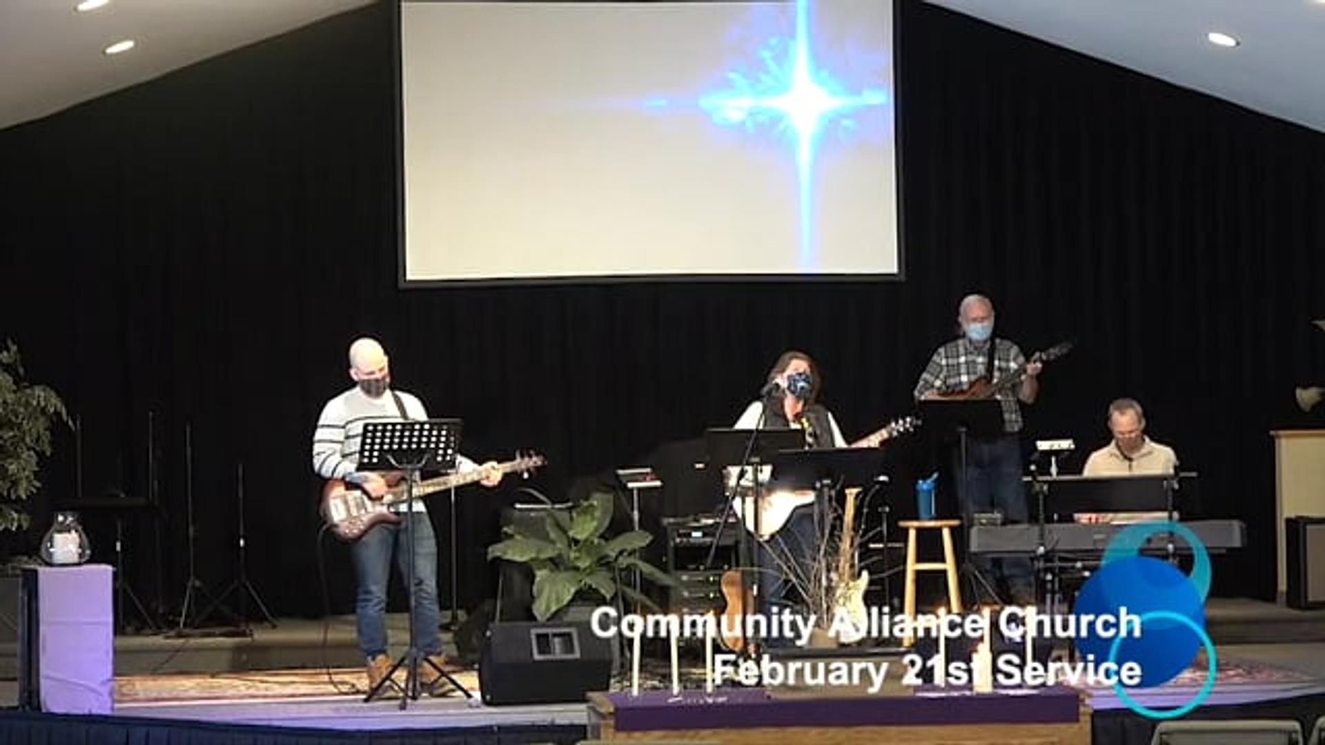February 21st Service