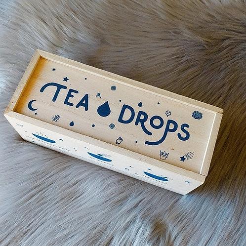 Tea Drops Deluxe Assortment Wooden Box