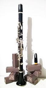 Imboccature per clarineto Sib, La e Mib prodotte da Mattia Storti in Italia