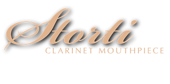 Logo Storti Clarinet Mouthpiece: imboccature per clarinetto lavorate a mano in Italia