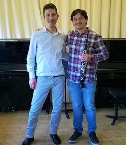 Manuel Jodar artista Storti Clarinet Mouthpiece con Mattia Storti