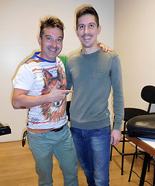 Cecilio Vilar Alpuente artista Storti Clarinet Mauthpiece con Mattia Storti artigiano clarinettista