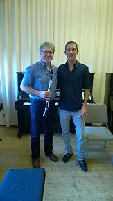 Josep Fuster Martìnez artista Storti Clarinet Mouthpiece con Mattia Storti