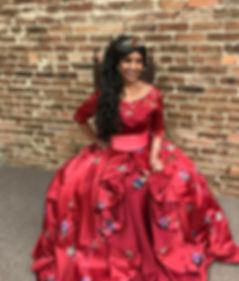 Latina Princess | Ever After Production | Tullahoma | Lynchburg | Nashville| Murfreesboro | Huntsville | Elena
