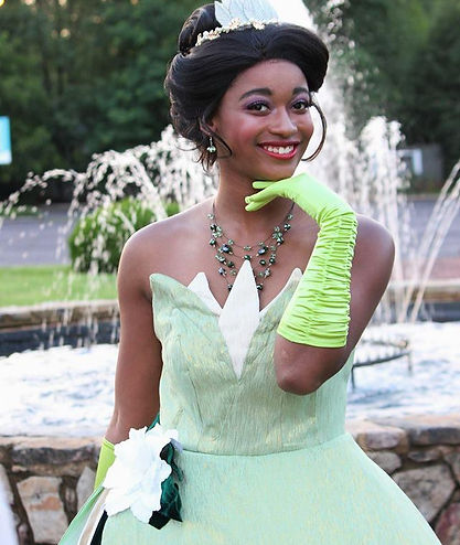Frog Princess | Princess Parties| Ever After Productions| TN| Nashville| Alabama | Murfreesboro | Tullahoma | Mancheter | Tiana