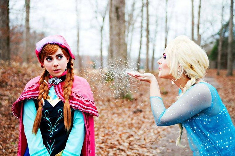 Snow Princess| Ice Queen| Princess Parties| Ever After Productions| Brentwood| Nashville| Mufreesboro| Tennessee| Alabama | Elsa | Anna | Frozen