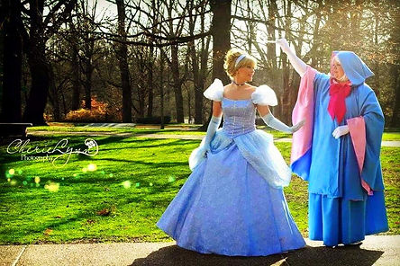 Cinderella| Princess Parties| Ever After Productions| Tennessee| Alabama| Nashville| Murfreesboro | Fairy Godmother | Tullahoma