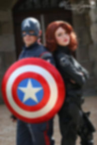 Captain USA| Agent Widow| Supherhero Parties| Ever After Productions| Tennessee| Alabama| Nashville