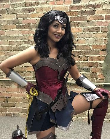 Girl Superhero | Ever After Productions| Princess Parties | Superhero Parties| Nashville| Alabama | Wonder Woman | Murfreesboro | Frankln | Tennessee