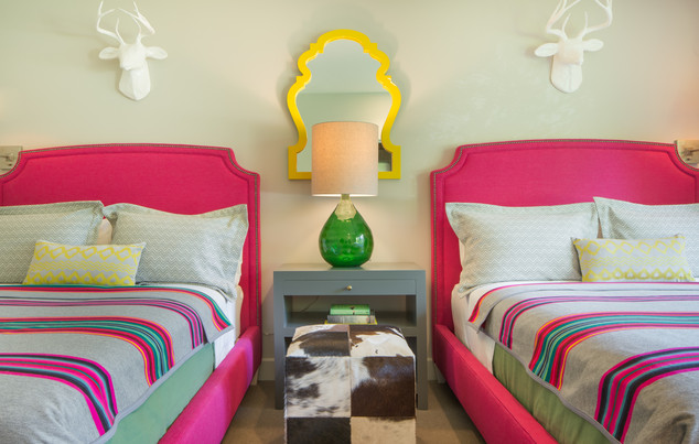 Hot Pink Guest Beds