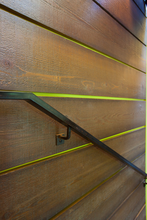 Lime Green Between Wall Boards