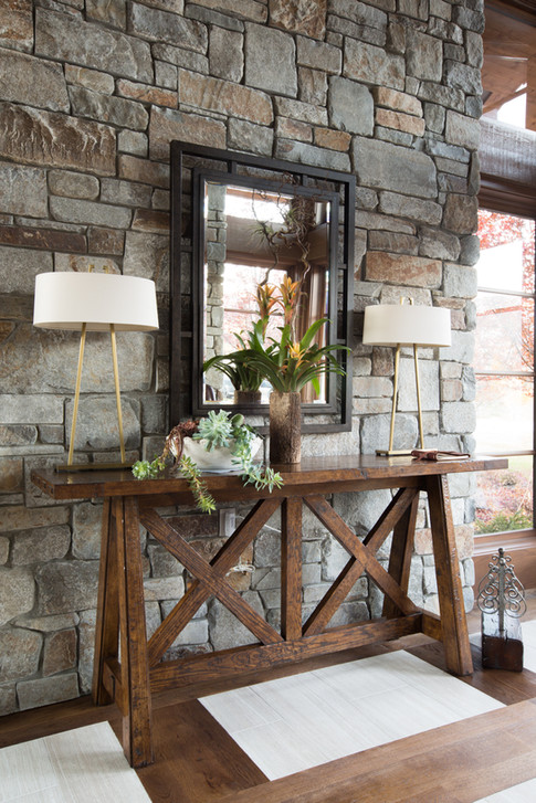 Stone Wall Accent