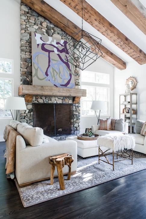 Modern Farmhouse Fireplace