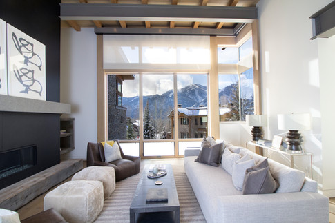 Living Room in Sun Valley, Idaho