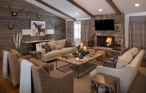 Mountain Preppy Living Room