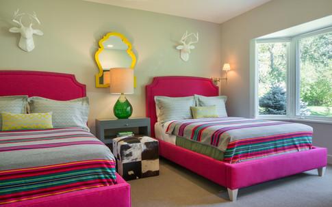 Color Pop Guest Bedroom