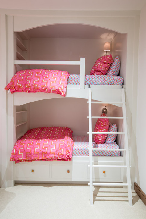 Pink Accent Bunkbed