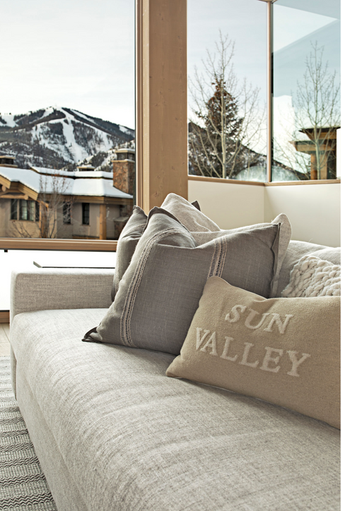 Bald Mountain View from Couch