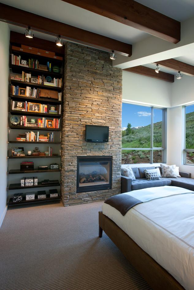 Bookshelf in Bedroom