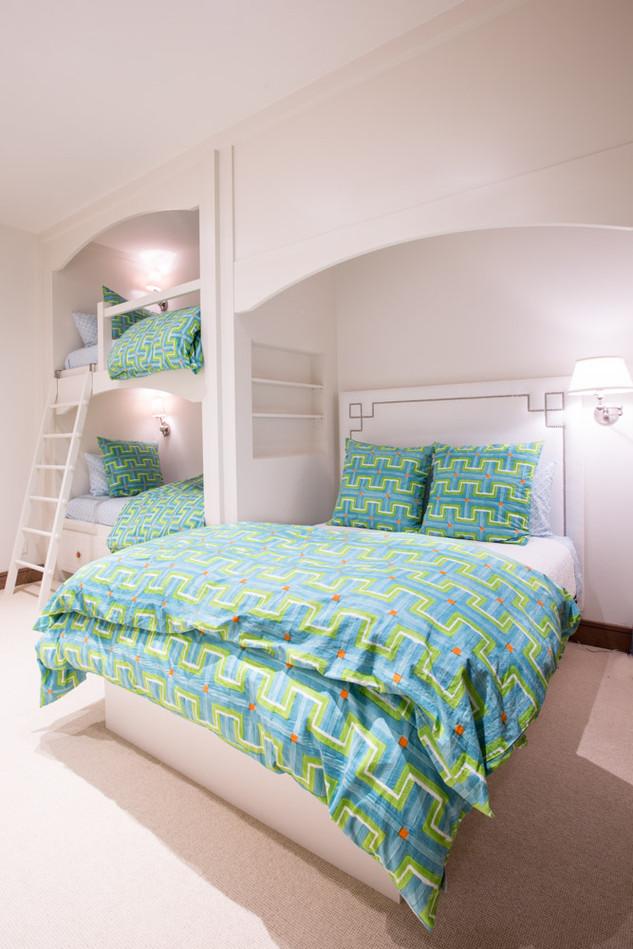 Teal Bedroom Accent