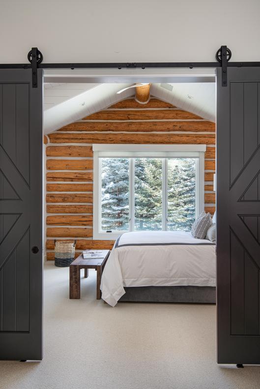 Mounted Sliding Door to Bedroom